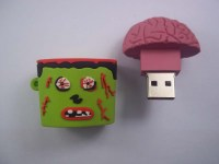 zombie flash drive brain usb