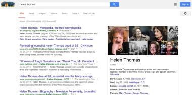 zombie google helen thomas